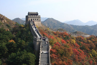 八达岭长城:全国十大风景名胜之首