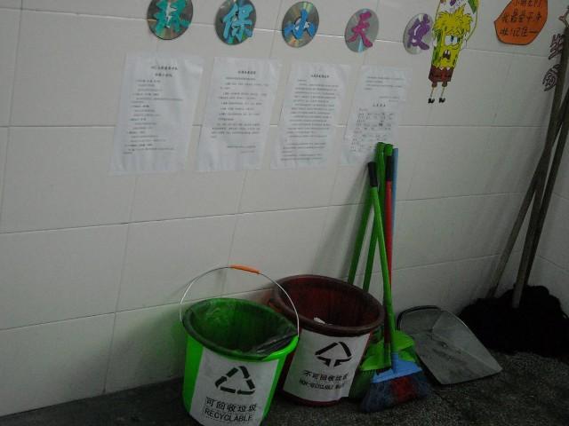 车站路小学开展低碳环保系列活动图片