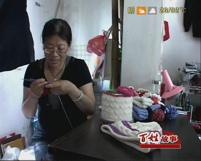 手工织毛衣图案_手工织毛衣36岁女宝宝洋气毛衣开衫_手工毛